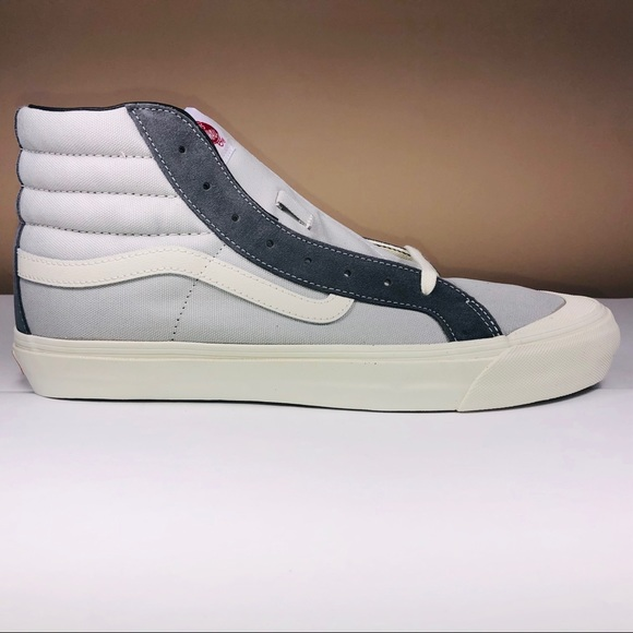 VANS OG Style 138 LX Pearl Grey Suede Canvas Shoes